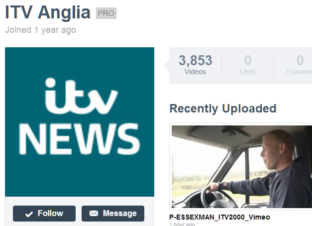 ITV Anglia News screenshot